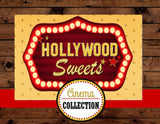 MOVIE PARTY - HOLLYWOOD SIGN - Glam Party- Hollywood Party- Movie Theater
