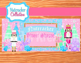 NUTCRACKER Birthday- Nutcracker BACKDROP- Winter Birthday Party- Snowflake- Christmas- Winter Party - Nutcracker Printables - INSTANT DOWNLOAD