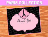 PARIS Birthday Party- Paris Party- COMPLETE- Pink- Poodle