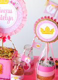 SLEEPING BEAUTY Party- PRINCESS Party - LABELS - Girl Birthday - Bridal Shower