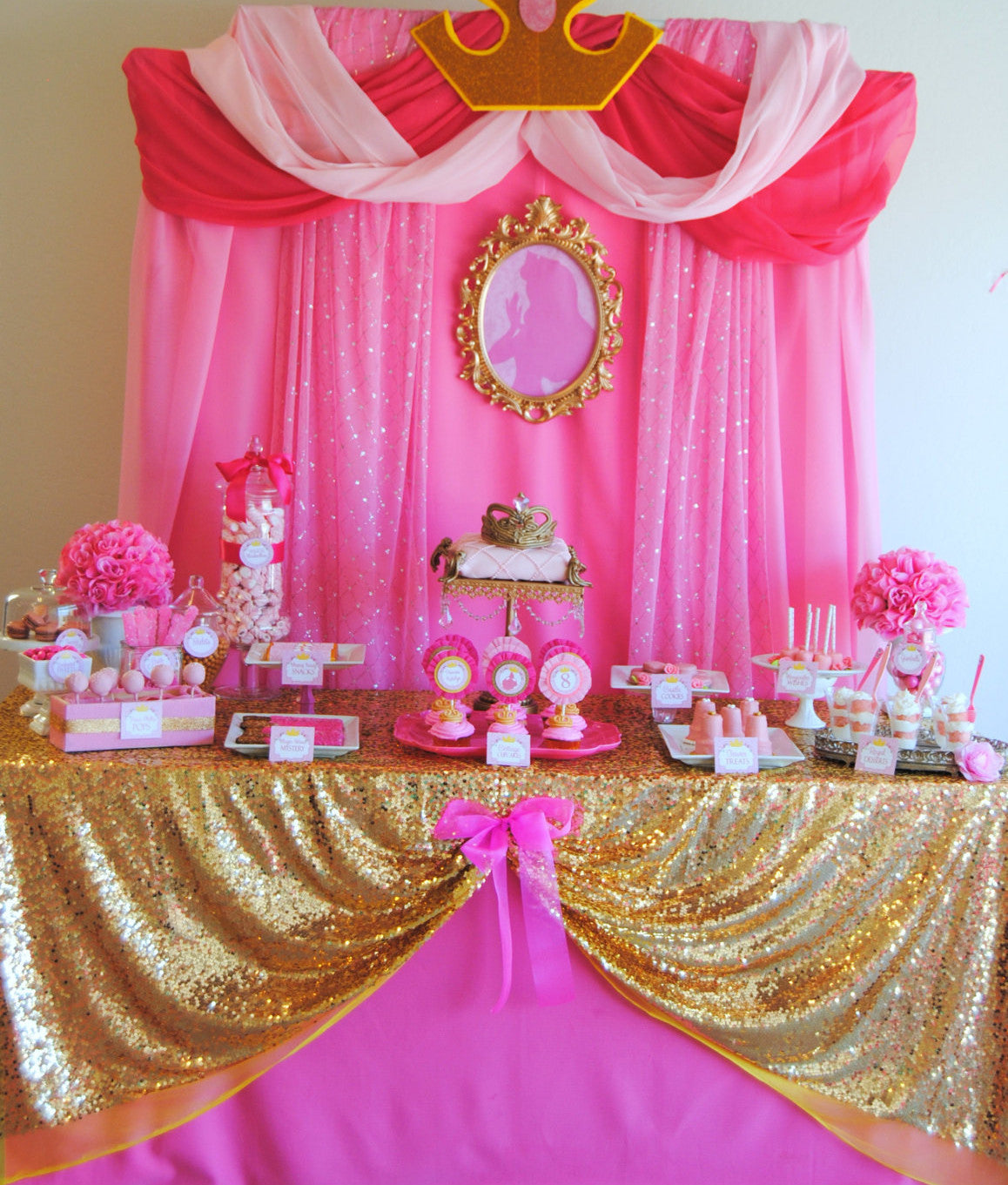 SLEEPING BEAUTY PARTY PRINCESS Party Princess Birthday COMPLETE