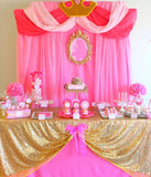PRINCESS Party - BANNER - Girl Birthday - Bridal Shower