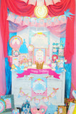 PRINCESS Party - Princess BACKDROP - Castle BACKDROP