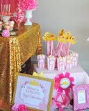 SLEEPING BEAUTY Party- PRINCESS Party- Princess Birthday- Pink Princess- Princess Party Decorations- COMPLETE