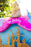 PRINCESS Party- Princess BANNER - Carriage - Girl Party
