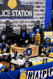 POLICE Party - Police COPCORN BAR SIGNS - Policeman Birthday -Officer Party - Boy Birthday - INSTANT DOWNLOAD