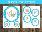 Prince BABY SHOWER - Royal Prince - Prince BACKDROP