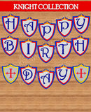KNIGHT Party - Castle Party - Medieval Party - Knight - King Party - Royal Birthday Party - Dragon Party - BANNER