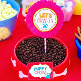 PUPPY PARTY - Dog Adoption Party - Puppy Birthday - Dog SIGNS - Dog Party