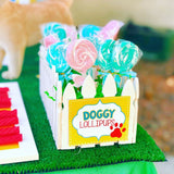 PUPPY PARTY - Dog Adoption Party - Puppy Birthday - Dog CUPCAKE Toppers - Dog Party