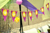 PRINCESS Party - STRAW FLAG- Party Printable - Princess Party Decorations