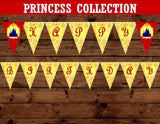 PRINCESS Party - Princess BANNER - Princess Birthday
