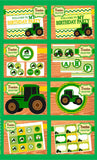 TRACTOR Party- Farm Party- Green Tractor Birthday Party- FOOD LABELS