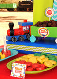 TRAIN Birthday Party - COMPLETE - Train Party - Railroad Boy Birthday - Engine - Railway Train