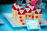 WONDERLAND Birthday Party- MAD HATTER- Alice- FOOD LABELS