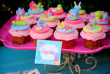 WONDERLAND Birthday Party- Alice In Wonderland SIGNS- MAD HATTER Party- Alice Party