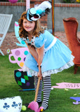 WONDERLAND Birthday Party- Alice- FOOD LABELS- MAD HATTER Party