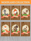 Fox Party - WOODLAND Party - Woodland Baby Shower - Forest Friends Party- COMPLETE COLLECTION