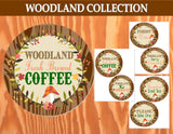 WOODLAND Party - Woodland Shower - Woodland DRINK LABELS