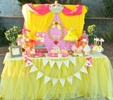 PRINCESS BIRTHDAY Party- Princess Party- BANNER - Princess