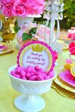 BELLE Party- BRIDAL Shower- Princess Party - Princess CANDY LABEL