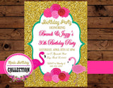 FLAMINGO Party - Flamingo Printables - Flamingo INVITATION - Flamingo Birthday