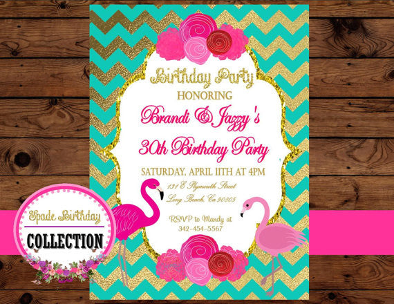 FLAMINGO Party - Flamingo Printables - Flamingo INVITATION - Flamingo Birthday Party - Hawaiian Luau - Summer Party - Pool Party -  Flamingos - Pineapple Party - Flamingo Invite