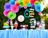 WONDERLAND Birthday Party - MAD HATTER Party - Alice Party - Alice in Wonderland COMPLETE