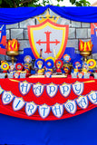 Knight Party - Castle Party - Medieval Party - Knight - King Party - Royal Birthday Party - Dragon Party - CUPCAKE SHIELD Toppers