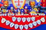 KNIGHT Party - Castle Party - Medieval Party - Knight - King Party - Royal Birthday Party - Dragon Party - BANNERS