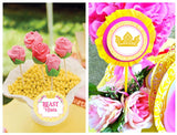 BELLE Party- BEAUTY AND THE BEAST- PRINCESS Party- Yellow Princess - Beauty Party - Princess COMPLETE Party Printables