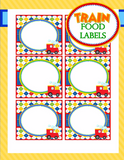 TRAIN Birthday Party - Train FOOD LABELS - Train Party Decorations - Train Party - Boy Train Birthday - Train Party Printables - INSTANT Download