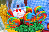 RAINBOW PARTY - Red Slippers - Rainbow SIGN