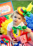 CIRCUS Birthday Party- Circus INVITATION- Carnival Invite- Circus Party
