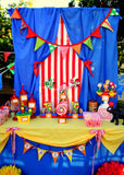 CIRCUS Party- Carnival Party- Circus BACKDROP- Circus Birthday
