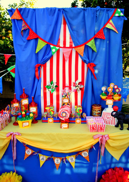 CIRCUS Birthday Party- Carnival- Circus Party- COMPLETE