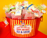 CIRCUS Birthday Party- Carnival Party- Circus Party- Circus BURSTS- CIRCUS Centerpieces- Big Top