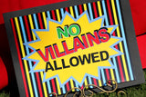 SUPERHERO Party - Superhero PARTY SIGNS - Superhero Birthday Party - Comic Party - Super