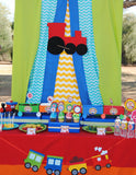 TRAIN Party- Train Birthday Party- Train- Red- COMPLETE
