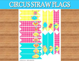CIRCUS Birthday Party- Circus BANNER- Circus Bunting- Circus Party