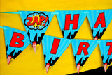 SUPERHERO Party - Superhero CANDY BAR WRAPPERS - Superhero Birthday Party - Comic Book Party