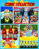 SUPERHERO Party- COMIC HERO Party- Superhero Birthday- Comic- COMPLETE