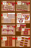 WESTERN Party Printables - Cowboy Party - COMPLETE