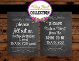 CHALK BOARD LABELS - Chalkboard- Wedding Sign- Bridal Shower- Birthday