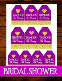 GOLD HEART -BRIDAL SHOWER - GLITTER HEART - Wedding