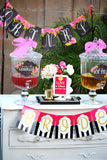 Pink BRIDAL SHOWER - BRIDAL CUP WRAPPERS - Pink Coffee Wrappers - Pink