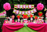Strawberry- INVITATION- STRAWBERRY Birthday Party- Girl