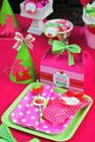 STRAWBERRY Birthday Party- Strawberry- THANK YOU TAGS