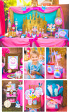 PRINCESS Party - CLOCK - Princess Printables - Birthday