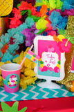 FLAMINGO Party-Flamingo Birthday- Pineapple- Luau Party- Flamingo PHOTO Props- Flamingo Printables